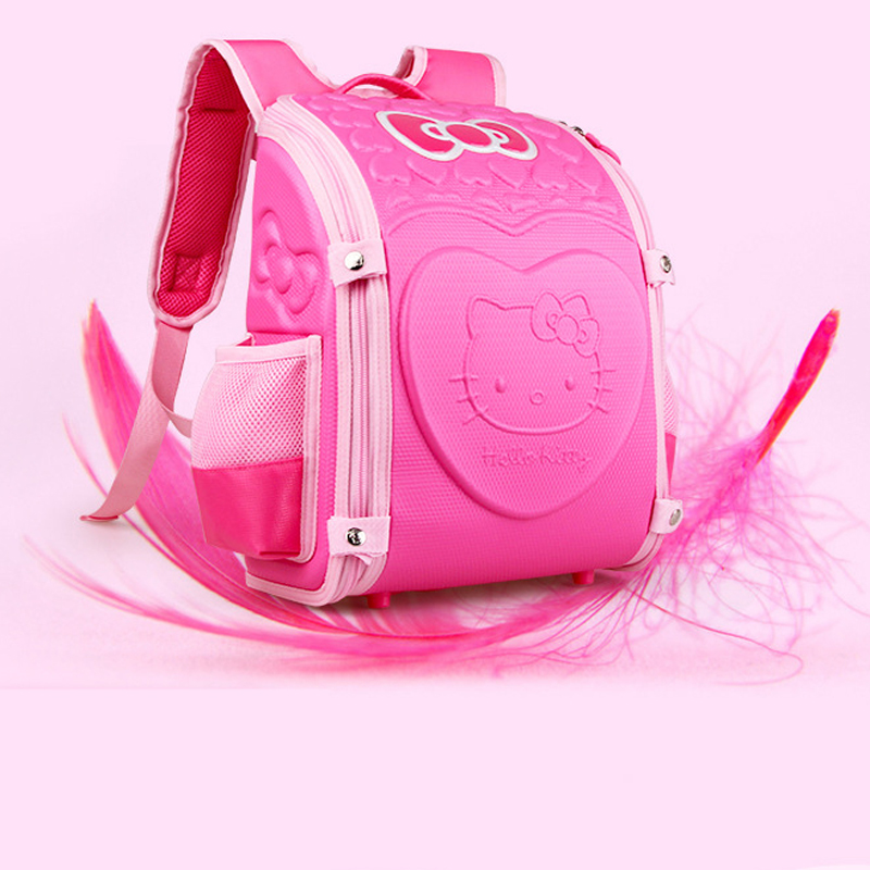 0175f78708 AOLIDA Children Backpack For Girl Hello Kitty Bag Japanese School Bag Kid  Randoseru Student Bookbag Orthopedic school backpa SB1-in School Bags from  Luggage ...