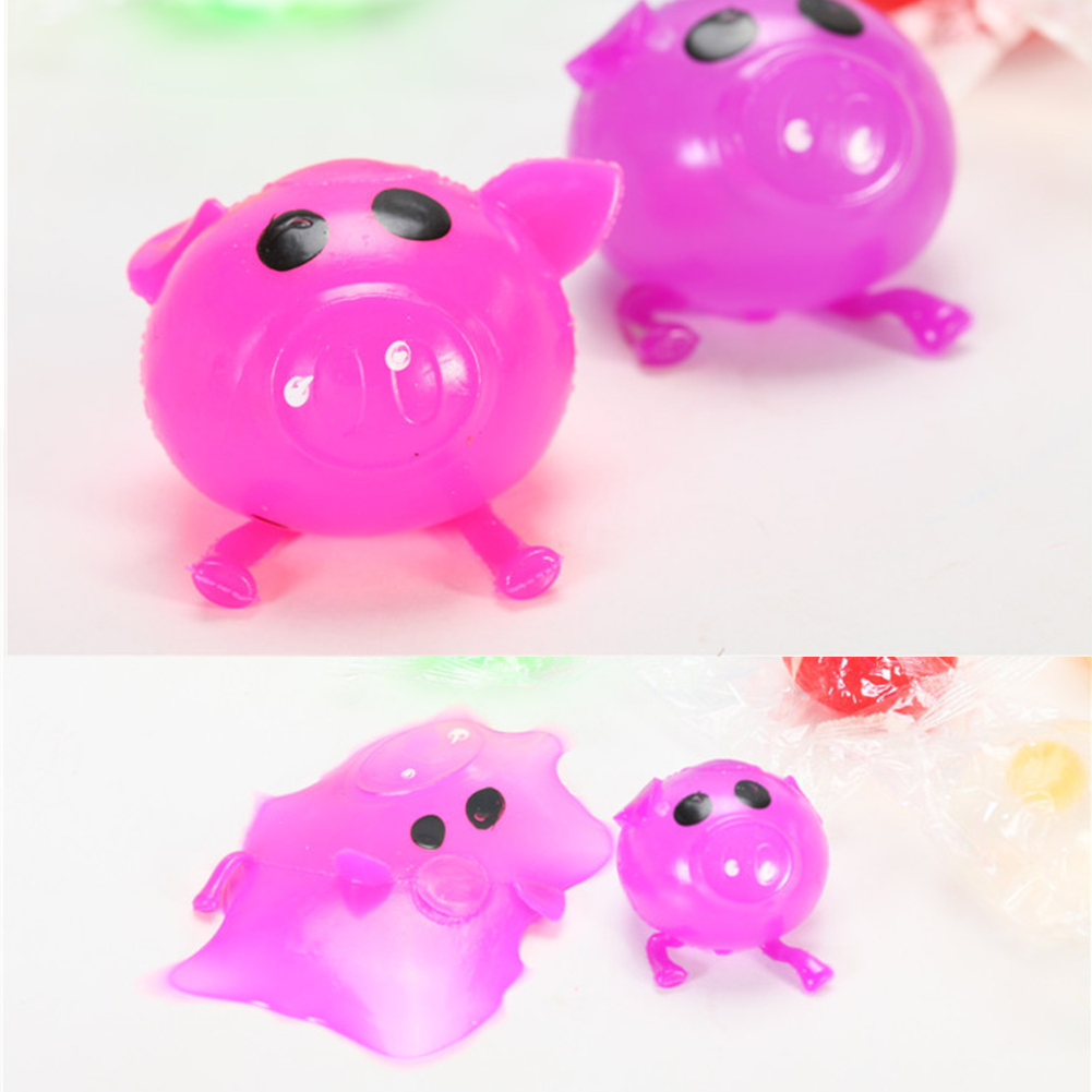 Gags & Practical Jokes Toys & Hobbies 1pc Anti Stress Decompression Splat Ball Vent Toy Funny Squishy Squeeze Toy Stress Relief Various Styles Pig Antistress Toys