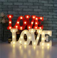 HOT SALE Battery Operated Siames LOVE Sign LED Night Light 3D Wall Lamps Luminaria Desk Lamp For Kids Gift Decor,Valentine's Day