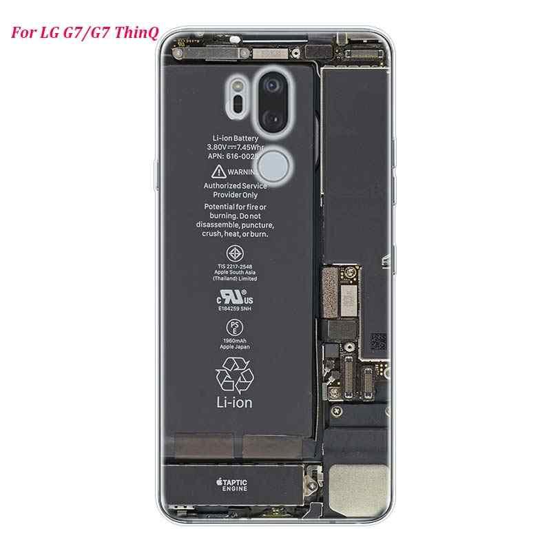 Silikon Weiche Telefon Fall Mode Gameboy Video band für LG K50 K40 Q8 Q7 Q6 V50 V40 V35 V30 V20 g8 G7 G6 G5 ThinQ Mini Abdeckung