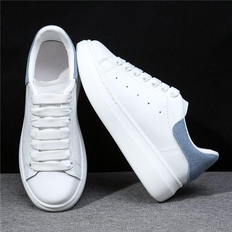 MORAZORA 6 couleurs 2019 nouvelle plate-forme en cuir véritable baskets femmes chaussures décontractées en cuir de vache classique petites chaussures blanches femme - 5