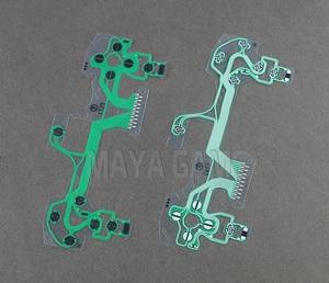 Image 2 - JDS 055 JDS 055 5,0 проводящая пленка для контроллера пленка запасная часть для Sony Playstation 4 PS4 Pro клавиатуры ленточный кабель для печатной платы