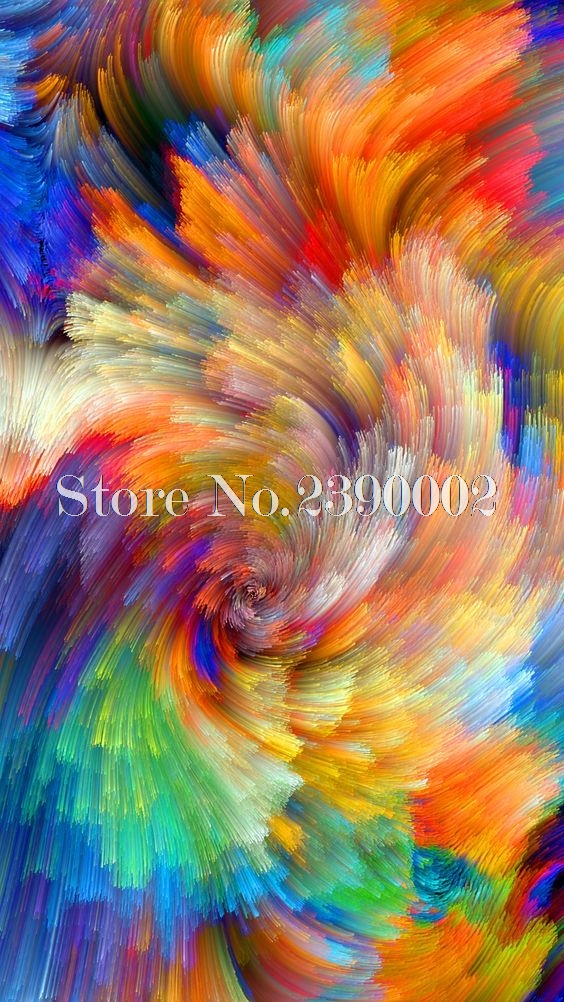 Us 11 4 40 Off Sky And Sea Oil Painting Diamond Embroidery 5d Diy Diamond Painting Colourful Abstract Painting Full Rhinestone Cross Stitch In
