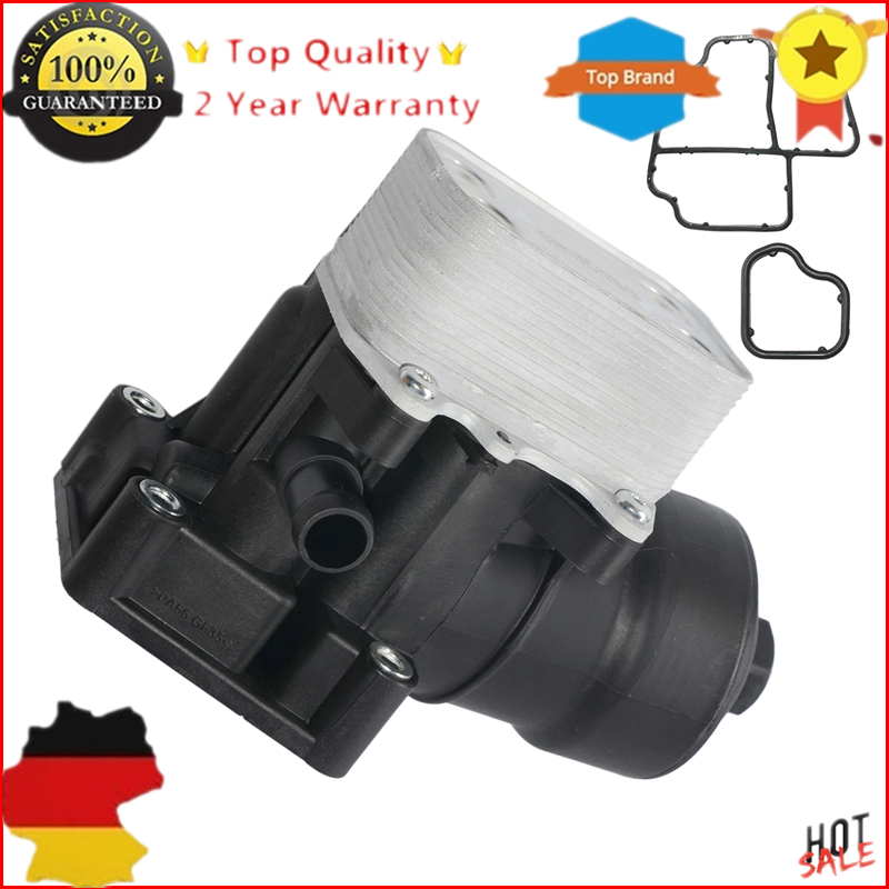 AP01 New 03L 115 389 B/C/G/H Oil Filter Assembly For AUDI A3 A4 VW SEAT SKODA 1.6 2.0 TDI  03L 115 389 B 03L 115 389 C