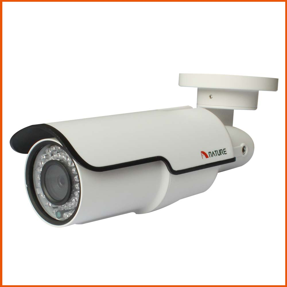 Extérieure 2MP Réseau Bullet IP Caméra de Surveillance 1080 P CCTV Caméra Night Vision IP66 Métal POE Audio D'alarme De Sécurité BNC caméra