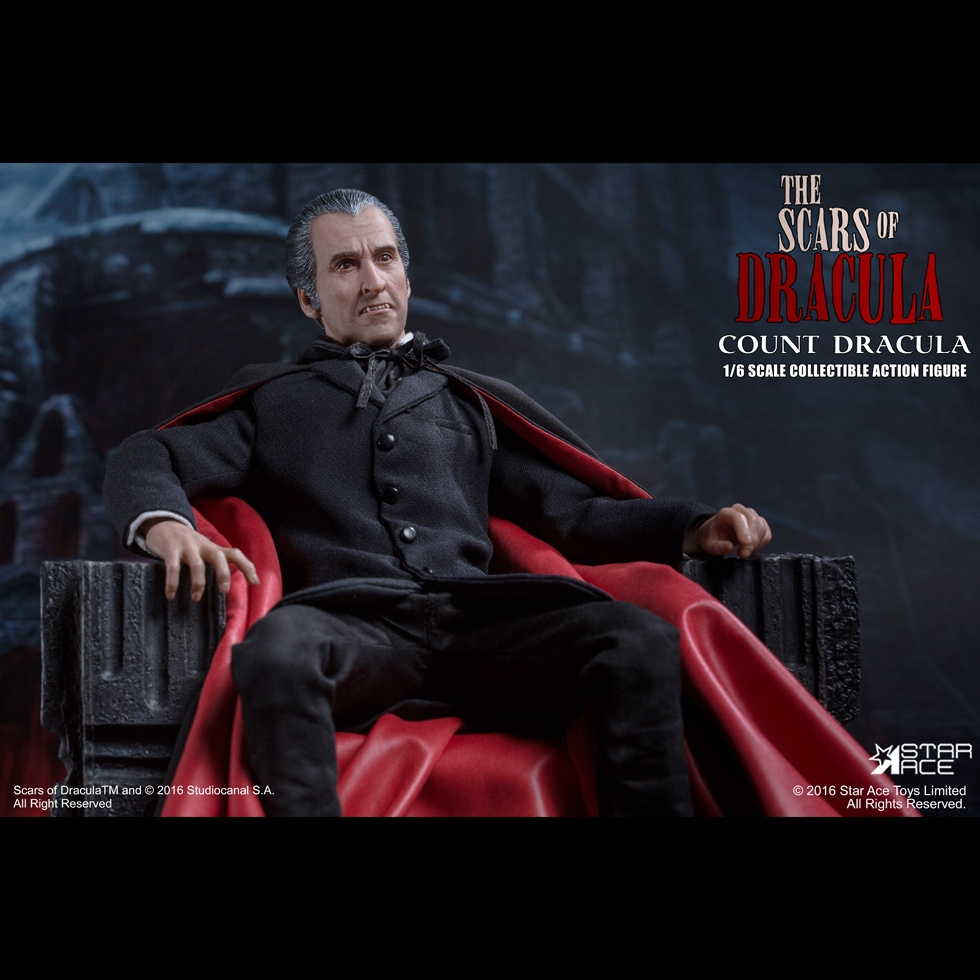 1/6th scale figure doll Collectible model plastic toy Suicide Squad COUNT DRACULA CHRISTOPHER LEE 12 Action figure doll 1 6 scale figure doll terminator3 rise of the machines fembot t x 12 action figure doll collectible model plastic toy