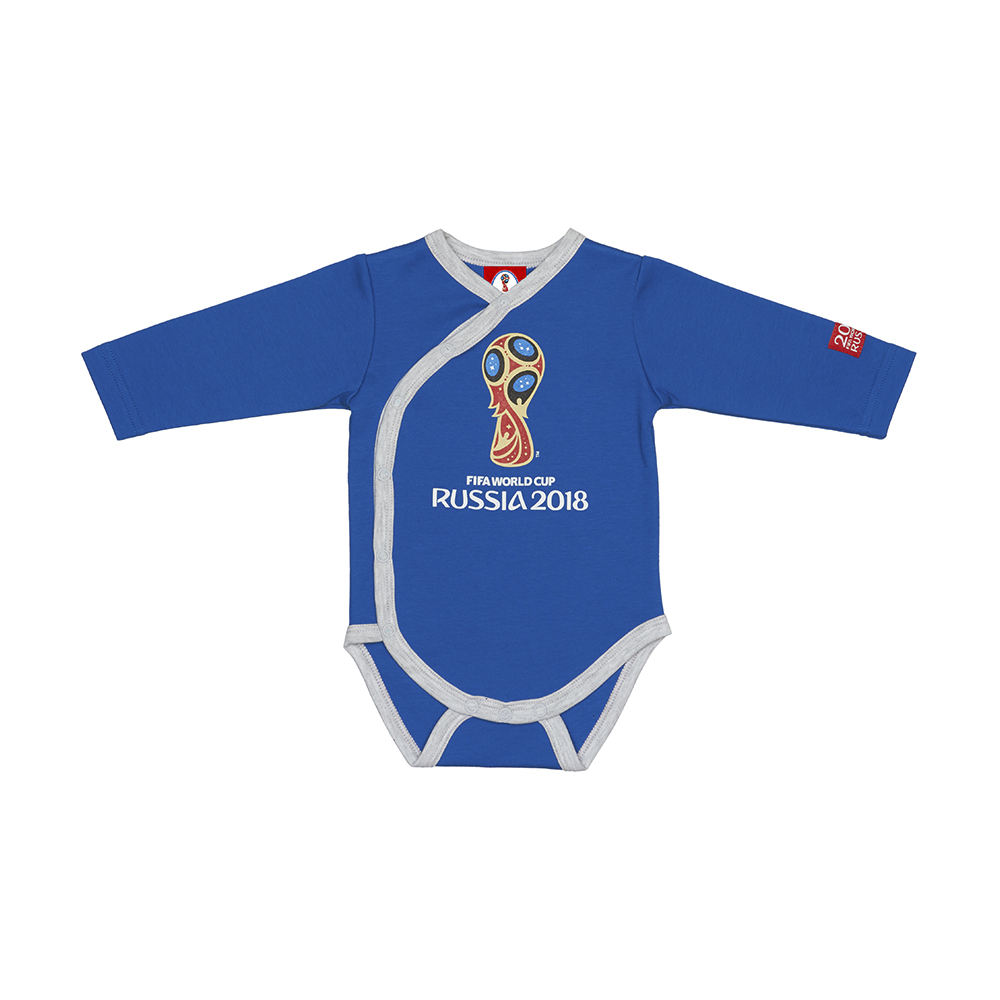 Bodysuits FIFA WORLD CUP RUSSIA 2018 for girls and boys F1-5 Newborns Babies Baby Children clothes delune brand shcool bags for girls boys printing waterproof schoolbag children orthopedic backpack mochila escolar birthday gift