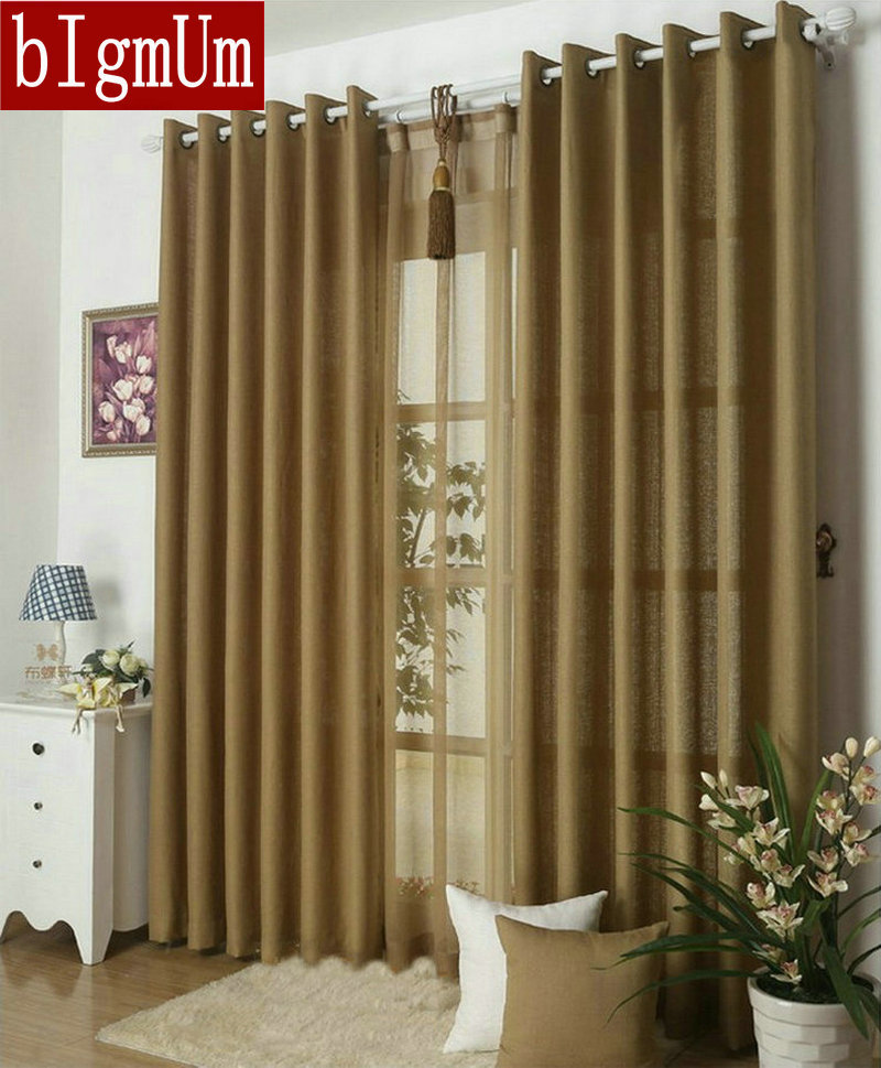 Kitchen Curtains Yellow And Gray: Aliexpress.com : Buy Kitchen Curtains Solid Color Drapes