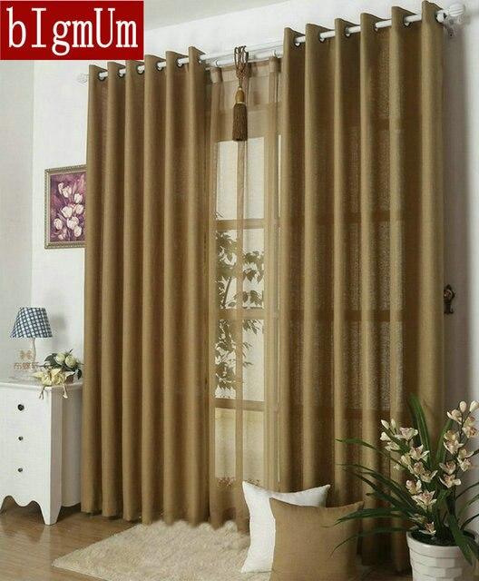 Kitchen Curtains Solid Color D For Plain Curtain Voile 9 Colors Grey Burgundy