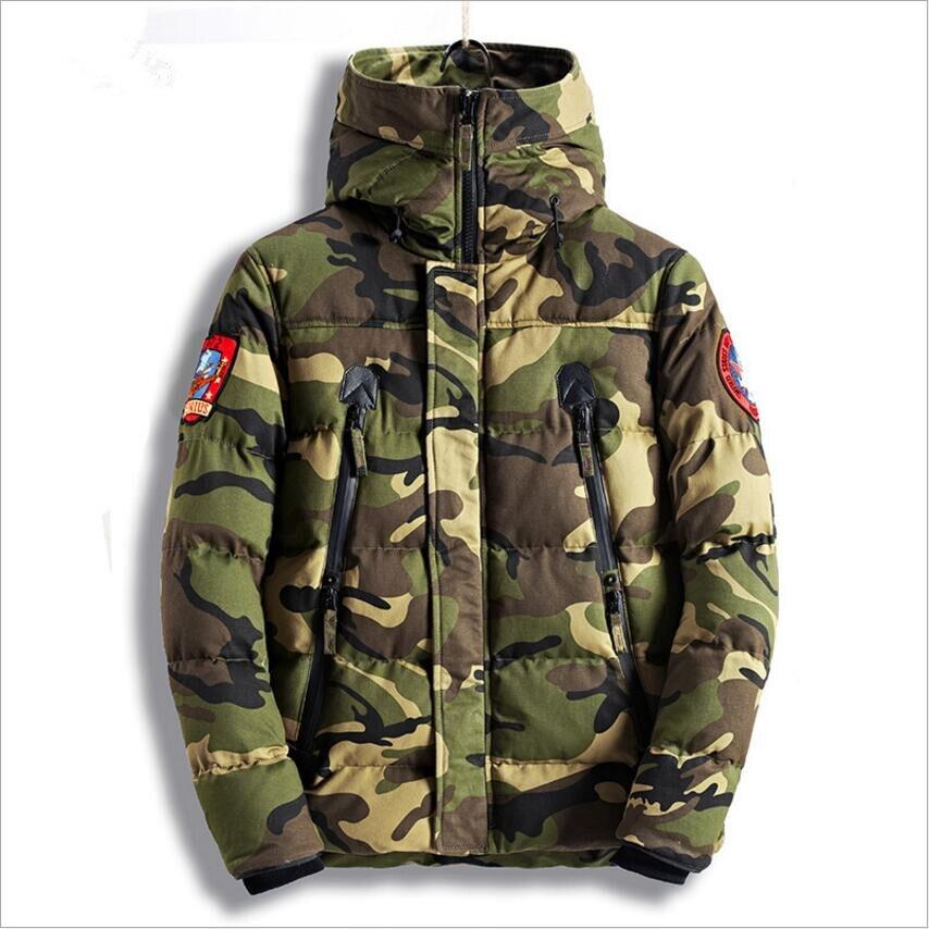 Hot Sale 2019   Parka   Men Winter Jackets Cotton Chaquetas Hombre   Parkas   Mens Casual Outerwear Mens Jackets and Coats Drop Shipping