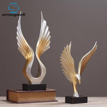Strongwell American Simple Resin Angel Wings Decoration Soft Pack Model Decoration Ornaments Gifts European, Pastoral, American цены онлайн