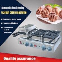 2PC Hot sale 220V Electric commercial walnut sweet cake machine ;walnut crisp maker; waffle maker