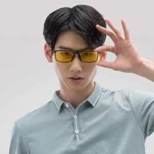 Image 5 - Очки ночного видения Youpin TS Driver/солнцезащитные очки Pilot, объектив TAC, поворот на 135 градусов, зажим из цинкового сплава, 10 г светильник легкий вес для ночного drivi