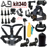 A9 For Gopro Accessories Set Mount For Gopro Hero 5 Sony Action Cam Xiaomi Yi 4K