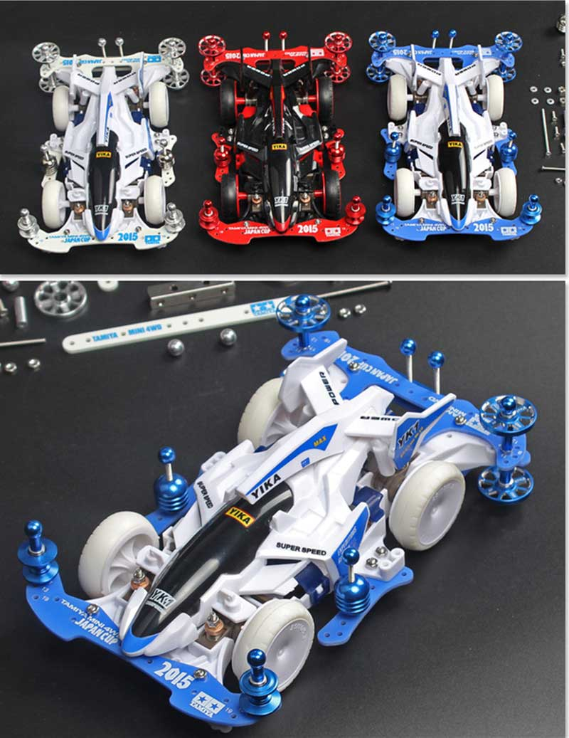 Image 4 - Free Shipping 1 Set MA/AR  Chassis Modification Spare Parts Set Kit With FRP Parts For Tamiya Mini 4WD RC Car Model-in Parts & Accessories from Toys & Hobbies