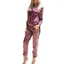 AmberHeard 2017 Fashion Women Set Sporting Suit Outwear Sweatsuits Hoodies Tracksuit Long Sleeve Tops+Pant Tracksuit 2 Piece Set
