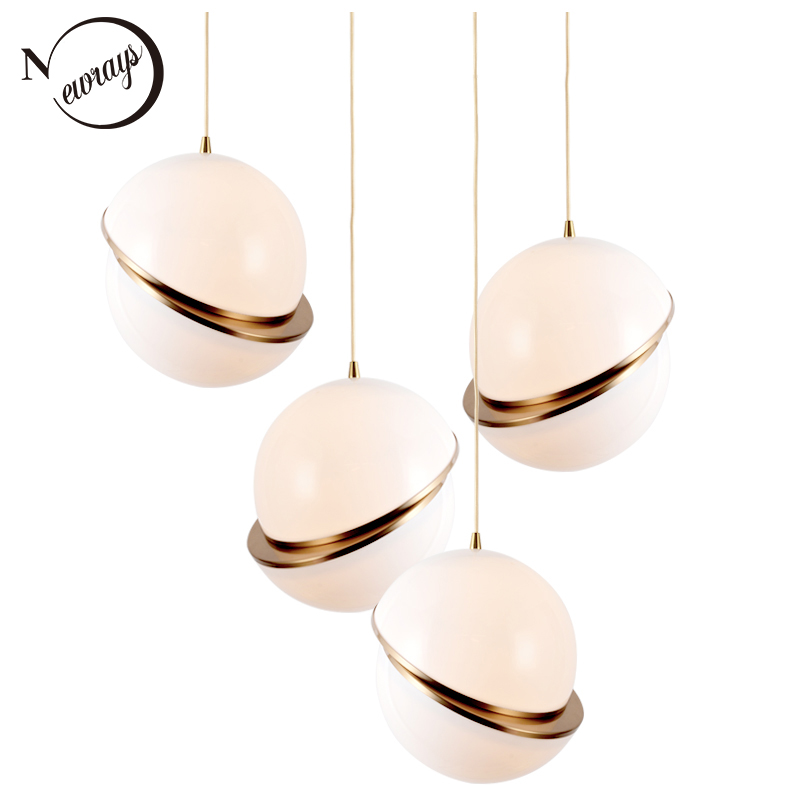 Novelty spherical iorn hanging lamp LED E27 loft modern pendant Light Fixture for living room hotel restaurant bedroom study bar modern pendant lights spherical design white aluminum pendant lamp restaurant bar coffee living room led hanging lamp fixture