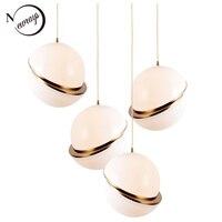 Novelty Spherical Iorn Hanging Lamp LED E27 Loft Modern Pendant Light Fixture For Living Room Hotel