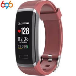 696 цветной экран Smart Band GT101 смарт-браслет пульсометр фитнес-трекер сна трекер Спорт Смарт часы с встроенным телефоном ID115
