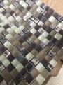 Brand new antique mate azulejos de mosaico de vidrio para pared para baño ducha piscina diy decorar 11 unids tamaño 30*30 cm