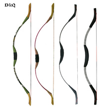 4 Colors Traditional Archery Recurve Bow For Youth Children Lady Outdoor Hunting Longbows Target Shooting Sports Games Slingshot