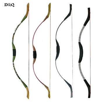 Arco recurvo de tiro con arco tradicional de 4 colores para jóvenes ...