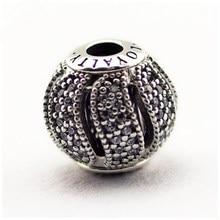 Plata de Ley 925 Esencia de Fidelidad Encantos Cupieron Las Pulseras Pandora Encanto Chispeante Alfabeto Beads Pequeño Agujero Para Los Mejores Amigos