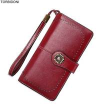 font b 2018 b font Hot Sale Women Clutch Wallet Split Leather Female New Long