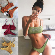 Sexy Swimwear Female Brazilian Bikini Push Up Swimwear Girl Monokini Sexy Swimsuit For Women Bikini Top