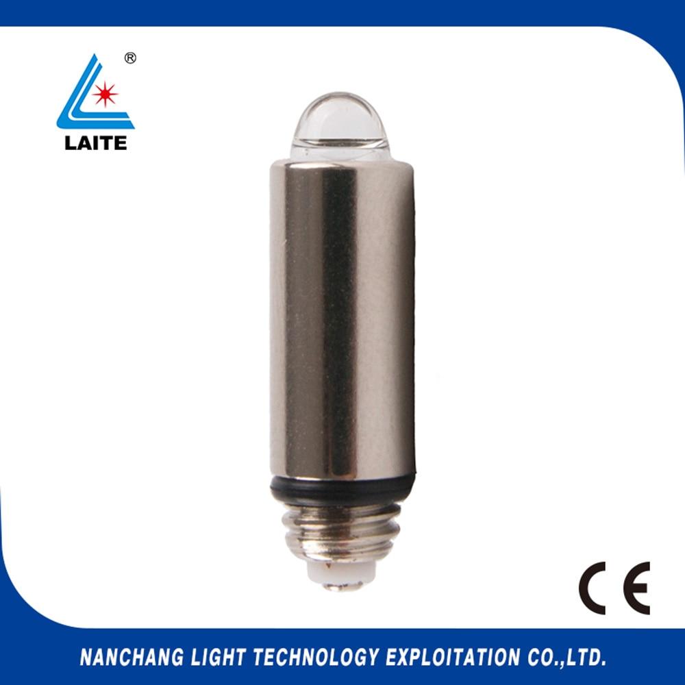 Welch Allyn 06000 2,5V halogenlampa laryngoskop WelchAllyn HPX 060 WA 0600-U glödlampa gratis frakt-10st