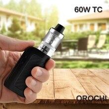 Vaporisateur Électronique Cigarette Orochi 60 W Kit Boîte Mod Avec 1800 mAh Vaporisateur mod elektronik sigara VS pico istick
