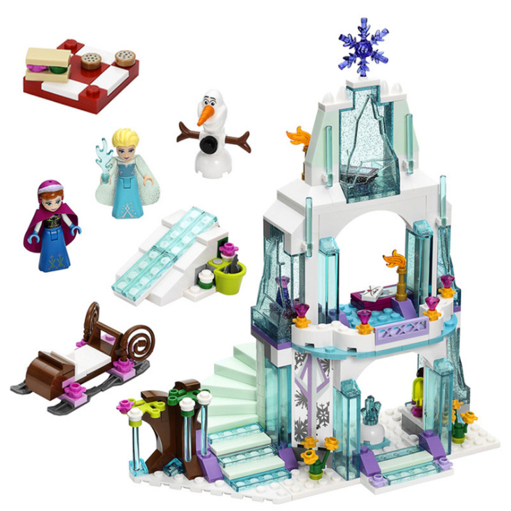 Series, Castle, Toys, Princess, Blocks, Girl