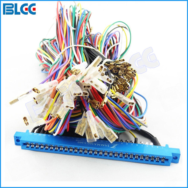 5 Set Lot 28 pin Arcade Jamma Harness Wires for Jamma Video Arcade Game Cabinet_640x640 aliexpress com buy 5 set lot 28 pin arcade jamma harness wires how to wire a jamma harness at pacquiaovsvargaslive.co