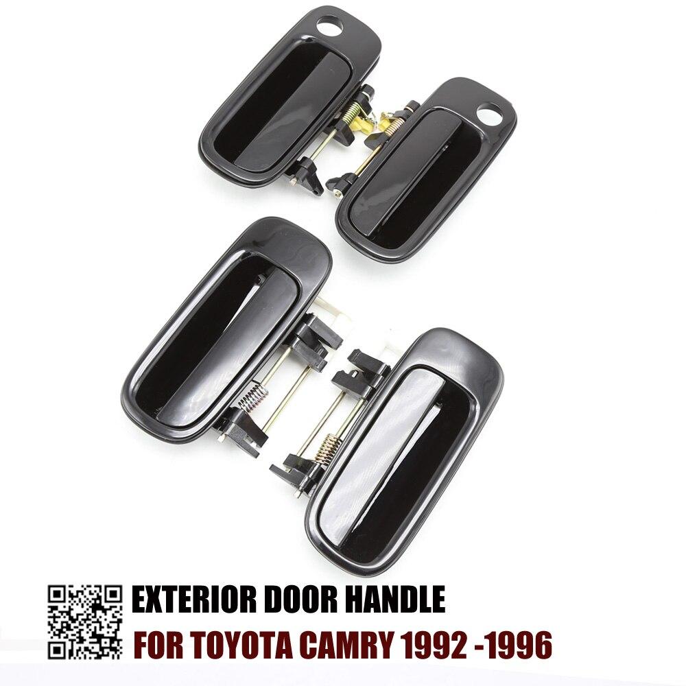 4PCS EXTERIOR DOOR HANDLE FOR Toyota Camry 1992 1996 1992 1993 1994 1995 1996 69240 33010