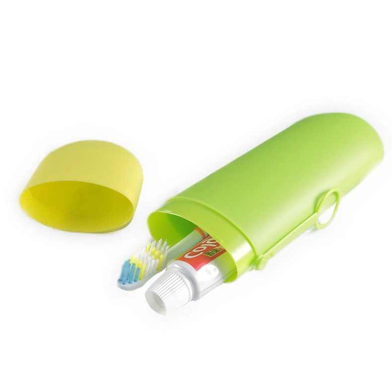 優れた品質強力ポータブル個人旅行歯ブラシ収納ボックス食器トラベルボックス卸売