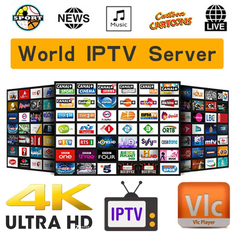 World Edition United States Canada UK iptv subscription Arabic 8000+ live channel iptv French Union for M3U8 Enigma2 Smart TV
