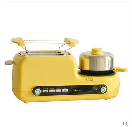 Non-stick Baked Electric MultiFunctional Automatic Breakfast Toaster Machine Bread Toaster Fried Egg Steamed Egg