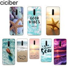 ciciber Summer Beach Phone Cases For Oneplus 7 Pro 1+7 Pro Soft TPU Back Cover for Xiaomi 9 Coque For Redmi Note 7 6 Pro Funda
