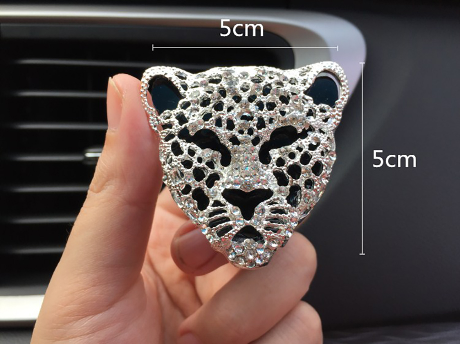 HTB1w22BbYvpK1RjSZFqq6AXUVXak Car Air Freshener In Auto Interior Decor Aroma Car Diffuser Vent Clip Diamond Leopard Solid Perfume Bling Car Accessories Auto