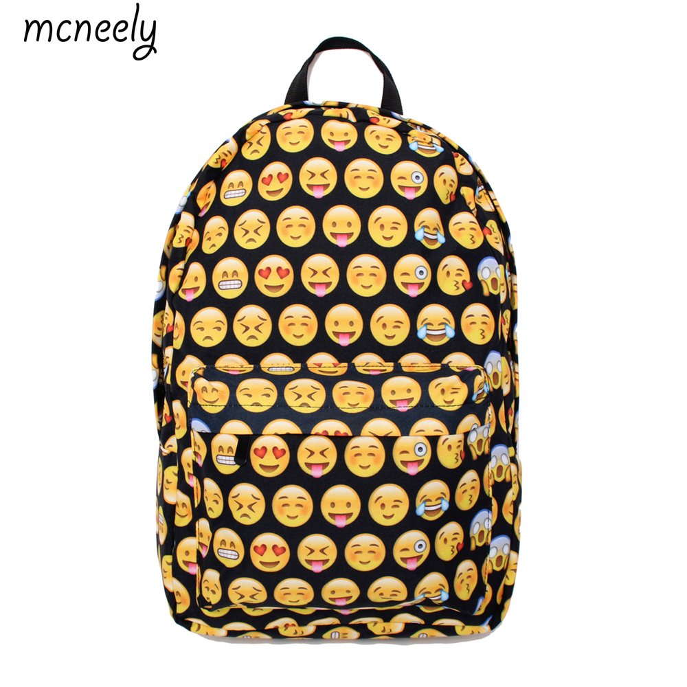 ff13445403a8 Милый рюкзак для мальчиков и девочек, школьная сумка, рюкзак с принтом,  дорожная сумка