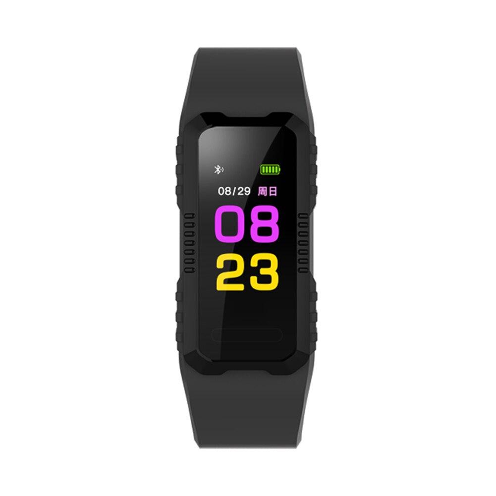 Bluetooth Smart Band Herz Rate Blutdruck Fitness Sport Tracker Armband
