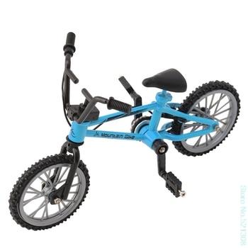 Dedo de aleación de bicicleta modelo Mini MTB BMX Fixie bicicleta niños juguete creativo juego regalo Drop Ship