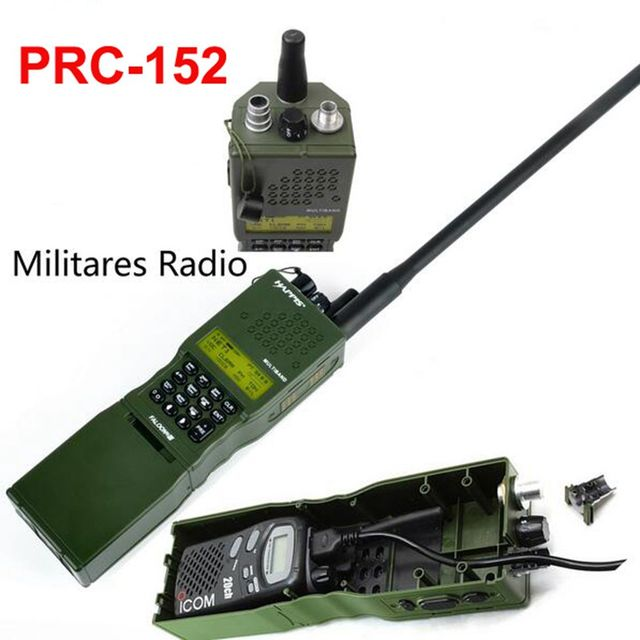 US $22 61 5% OFF|Z Tactical PRC 152 Militares Radio Comunicador Case Model  Dummy PRC 152 No function Radio Working for UV 3R Z020-in Hunting Gun