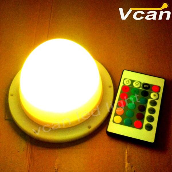 5 шт., новинка 2016, Быстрая Бесплатная Доставка, перезаряжаемая литиевая батарея, беспроводная Светодиодная лампа под столом