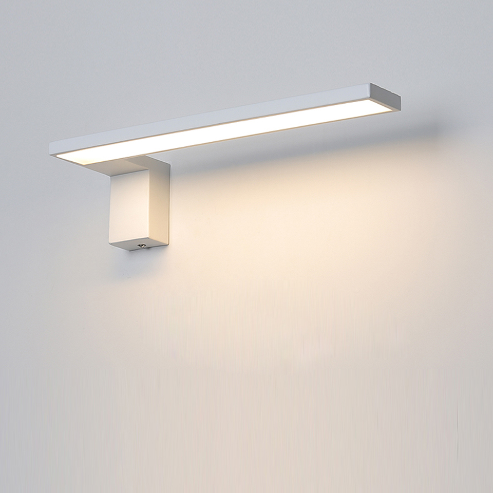 LED Wall Lamp Nordic Indoor Wall Lights Creative Bedside Bedroom 12W Sconce Living Room Simple Modern Aisle Acrylic Light