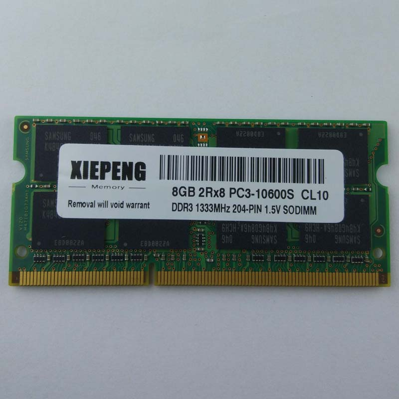 for Lenovo-idea H320 Thinkpad X220 X120e W520 T530 T530i Laptop Memory <font><b>DDR3</b></font> 8GB 1333MHz <font><b>pc3</b></font> <font><b>10600</b></font> <font><b>RAM</b></font> 4GB 2Rx8 <font><b>PC3</b></font>-10600S <font><b>1333</b></font> image