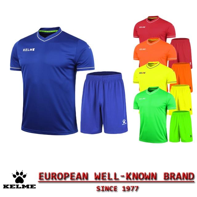 KELME Official Authentic Spain Children Soccer Jerseys Sport Brand Jersey Football Set 2016 Training Suits Jersey Kids 63