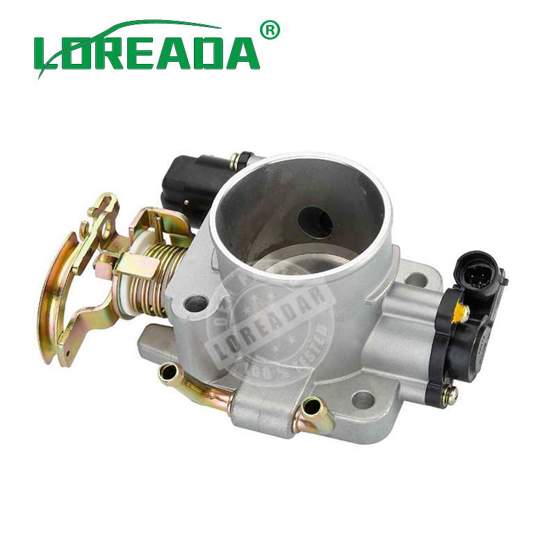 Air Intake System Auto Replacement Parts Learned Loreada Throttle Body For Delphi System Hafei Saibao Great Wall Jia Yu 4g63/4g64 Bore Size 55mm 100% Brand New Original Pure White And Translucent