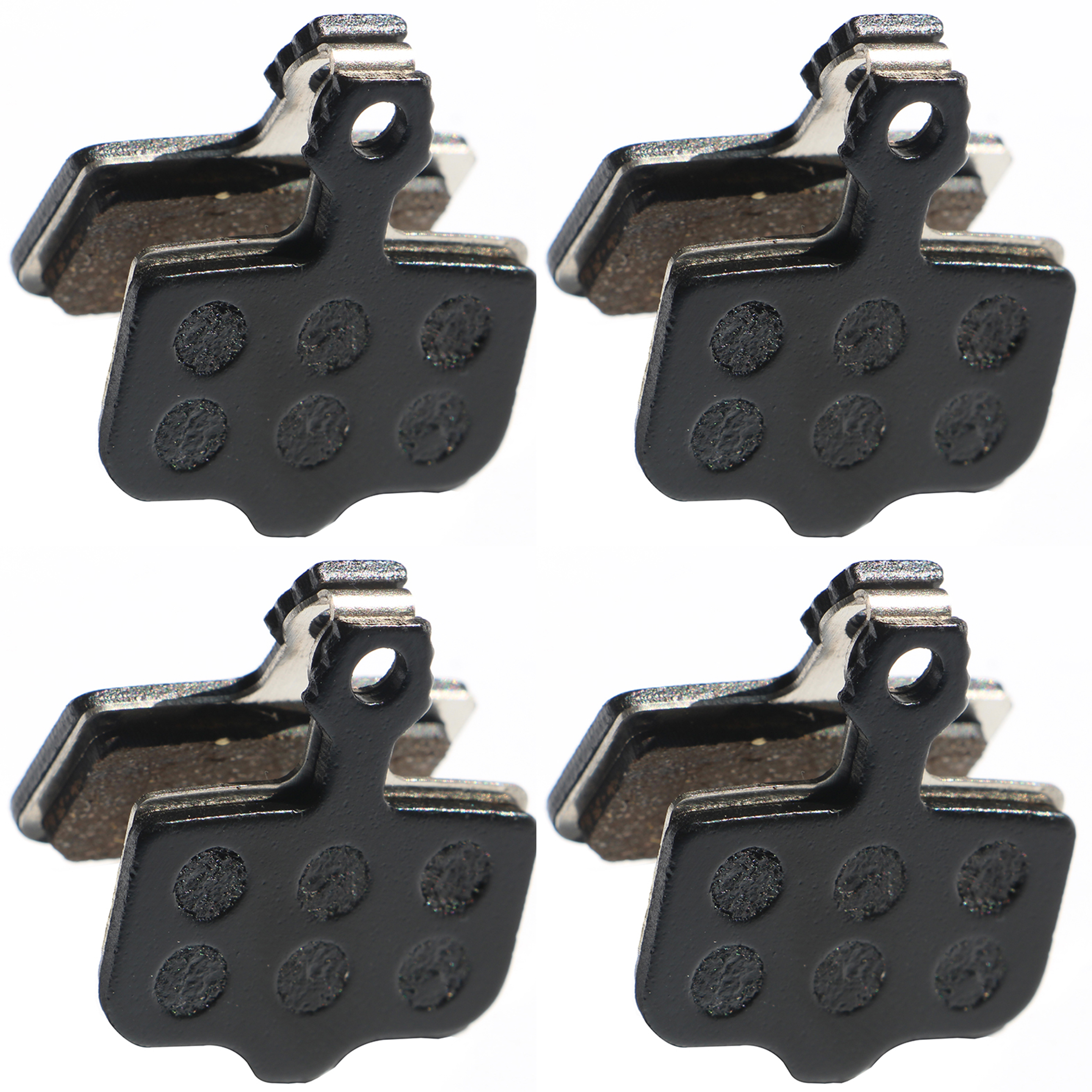 4 Pairs bicycle disc brake pads for shimeno 375 395 486 485 475 416 446 515 445 525 for tektro Orion / Auriga Pro / Gemini
