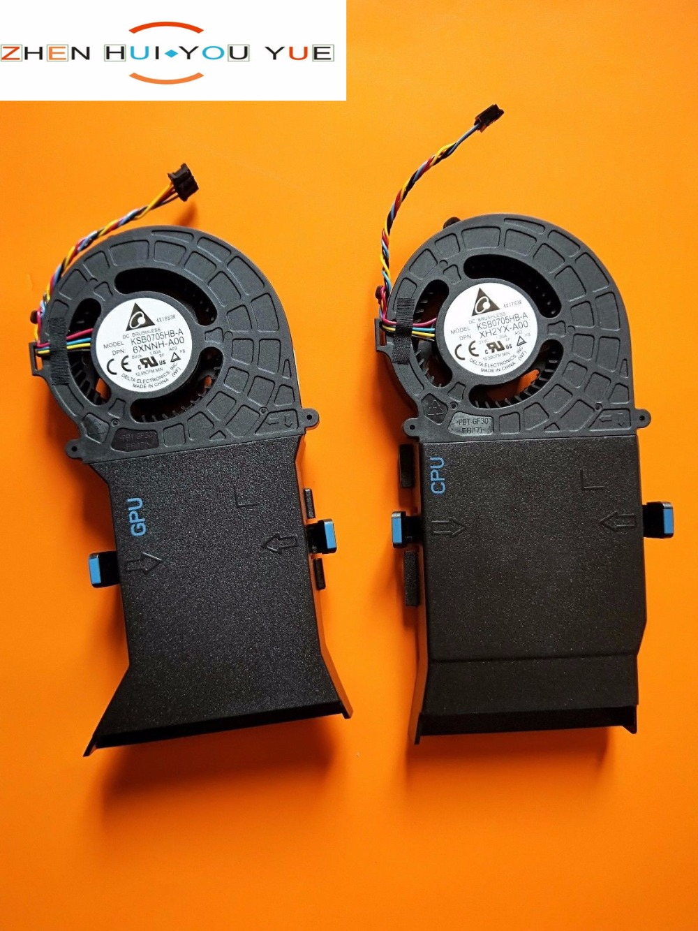 NEW CPU+GPU COOLING FAN 6XNNH A00 XH2YX A00 FOR Dell Alienware Alwar 2508 Alpha seires-in Laptop